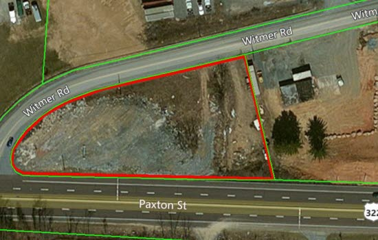 Witmer Road Property line.JPG